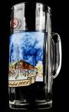 Paulaner Weissbier München, Oktoberfest 2001, Krug, Glas 0,5l, Bierseidel