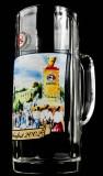 Paulaner Weissbier München, Oktoberfest 2002, Krug, Glas 0,5l, Bierseidel