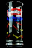 Müller Milch, Michglas 0,25l Banane, Erdbeer, Schoko