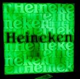 Heineken Bier, LED Display, Animiernde Leuchtreklame, Fernbedienung