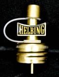 Helbing Kümmel Flaschenausgießer, Ausgießer Helbing Metall Ausgießer