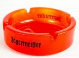 Jägermeister Likör Glas Aschenbecher, kleine Ausführung, orange satiniert