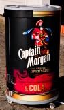 Captain Morgan Kühlschrank Gastro Cool GCPT 45, Barkühlschrank Tonne 45l