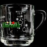 Klindworth, Weihnachts Glühweinbecher 0,2l Glas mit Henkel, kleine Ausführung