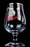 Schultheiss Bier Schwenker, Glas, Bierglas, Biergläser, Goldrand 0,3l Mönch weiß