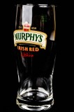 Murphys Beer, Bierglas, half Pint, Pintglas 0,4l, Irish Red