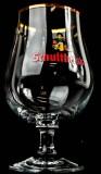 Schultheiss Lager, Berlin Bier, Bierglas, Kugelglas, Schwenker 0,4l mit Goldrand