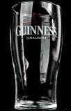 Guinness Beer Glas / Gläser, Bierglas Guinness Draught 0,4l