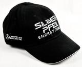 Silberpfeil Energy, AMG, Mercedes Benz Cap, Baseball Cap, schwarz