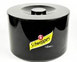 Schweppes, 10 Liter Eiswürfelbehälter, Eisbox, schwarz, Schweppes 3-teilig