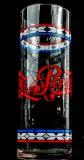 Pepsi Cola, Retro, Longdrinkglas 0,4l Tiffany schlanke Form, sehr selten!!
