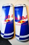 Red Bull 3D Werbeschild, Blechschild, Reklameschild, Küchendeko 2 Stück