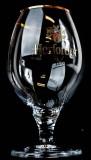 Herforder Bier, Bierglas, Schwenker, Kugelglas 0,4l, Goldrand