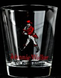 Johnnie Walker Whiskey, Tumblerglas, Reliefglas Old Scotch Whisky selten..