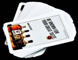 Jim Beam, Whisky, Poker Kartenspiel, 55 Blatt, französische Ausführung