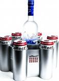 Effect Energy, Eiswürfelbehälter, Eisbucket UFO für 6 Dosen und 1 Flasche