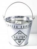 Salitos, Eiswürfelbehälter, Eiswürfeleimer verzinckt
