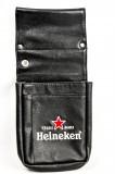 Heineken, Bier, Kellnertasche für Kellnerportemonaie, echt Leder