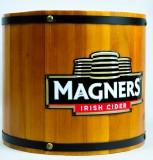 Magners Cider, Eiswürfelbehälter, Flaschenkühler in Holzoptik