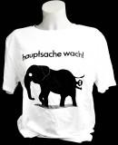 Fritz Cola, T-Shirt, Werbeshirt Hauptsache wach Logo vorne weiße Ausführung Women gr.L