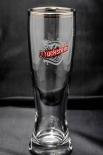 Duckstein Weizenbier Glas / Gläser, Bierglas 0,3l mit doppelten Silberrand