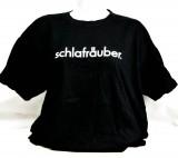 Fritz Cola, T-Shirt, Werbeshirt Schlafräuber Logo vorne schwarze Ausführung Women Gr. XL
