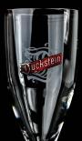 Duckstein Sommelier Glas / Gläser, Bierglas 0,3l mit Silberrand