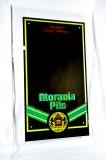 Moravia Pils, Werbespiegel in Acrylrahmen, sehr massiv und seltende Ausführung