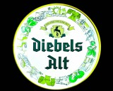 Diebels Alt, Bier, Wandteller aus Kunststoff, sehr selten