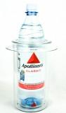Apollinaris, Wasser, Acryl Flaschenkühler Doppelwandig, für 0,7l und 1,0l