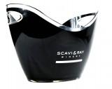 Scavi & Ray Prosecco,Acryl Flaschenkühler,Eiswürfelbehälter,schwarze Ausführung