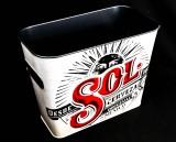 Sol Bier, Eiswürfeleimer, Eiswürfelbehälter, Flaschenkühler, beschichtet SOL