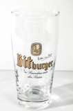 Bitburger Bier, Bierglas, Willibecher 0,3l