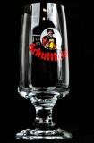 Schultheiss Lager, Bier, Bierglas, Tulpenglas Colani Design 0,2l, sehr alt