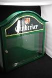 Einbecker Bier Speisekartenkasten, Schaukasten, Grün