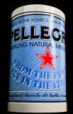 San Pellegrino, Wasser, Metall Flaschenkühler Doppelwandig, für 0,7l und 1,0l