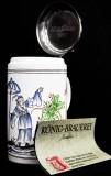 König Pilsener, Jahreseditions-Krug, Keramik Krug, 1992
