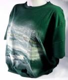 Original Jever T-shirt Auszeit-Shirt grün in M mit Logo