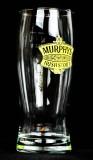 Murphys Beer, Bierglas, half Pint, Pintglas 0,25l, Irish Stout