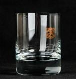 Chivas Regal, Whisky, Tumbler, Whiskyglas mit goldenen Wappen und dickem Boden