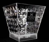 Three Sixty, Vodka, LED Acryl Eiswürfelbehälter, Flaschenkühler Diamand