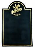 Hasseröder Premium Pils, Kreidetafel, schwarze Ausführung, goldenes Logo