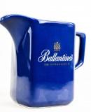 Ballantines Whisky, Pitcher, Wasser Karaffe, blaue Ausführung, DER BLAUE