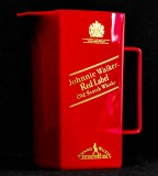 Johnnie Walker, Whisky, Pitcher, Karaffe Red Label aus Kunststoff