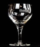 Klindworth Saft, Fruchtsaftglas, Saftschale, Stielglas Crystal