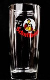Schultheiss Lager Bier Becher, Willibecher, Bierglas 0,3l altes Logo