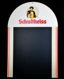Schultheiss Lager, Berliner Pilsener, Kreidetafel, Schreibtafel Mönch rar