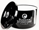 Russian Standard Vodka, Eiswürfelbehälter, Flaschenkühler, 10L, schwarz, 4-teilig