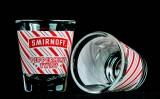 Smirnoff Vodka, Shotglas, Stamper 2cl, 4cl Pepermint Twist Sonderedition