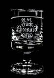 Fürst Bismarck, Kornbrand, Shotglas am Stiel, Stamper